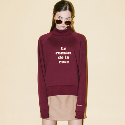 La Roman Sweat Shirt(Wine)