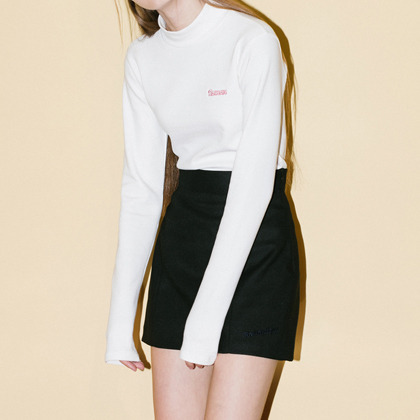 A-line Point Skirt(Black)