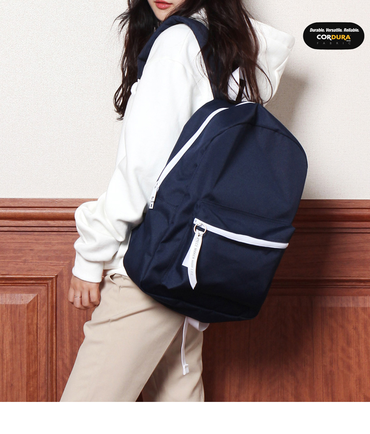 [착한가방] ALICE CORDURA DAY PACK (NAVY)