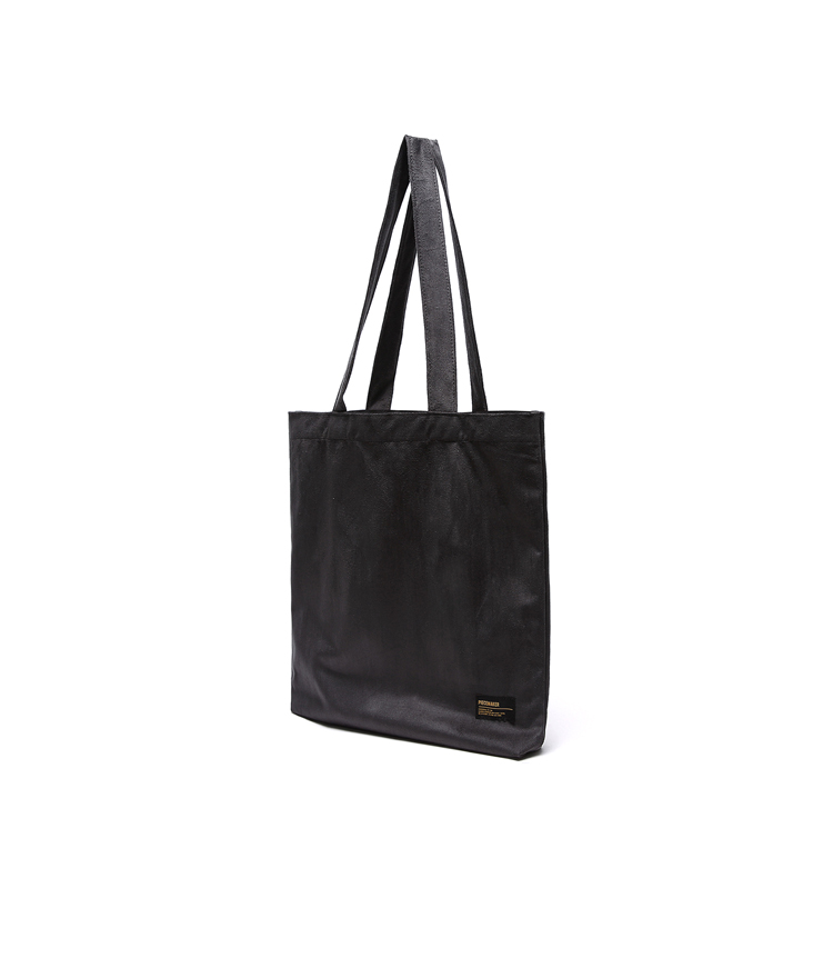 SUEDE ECO BAG (CHARCOAL)