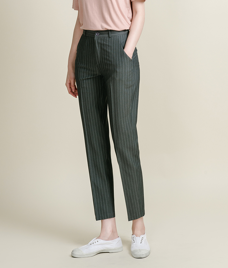 589 stripe slacks