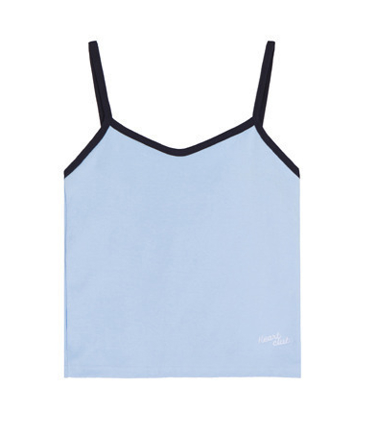 Heart Mini Top(Sky blue)