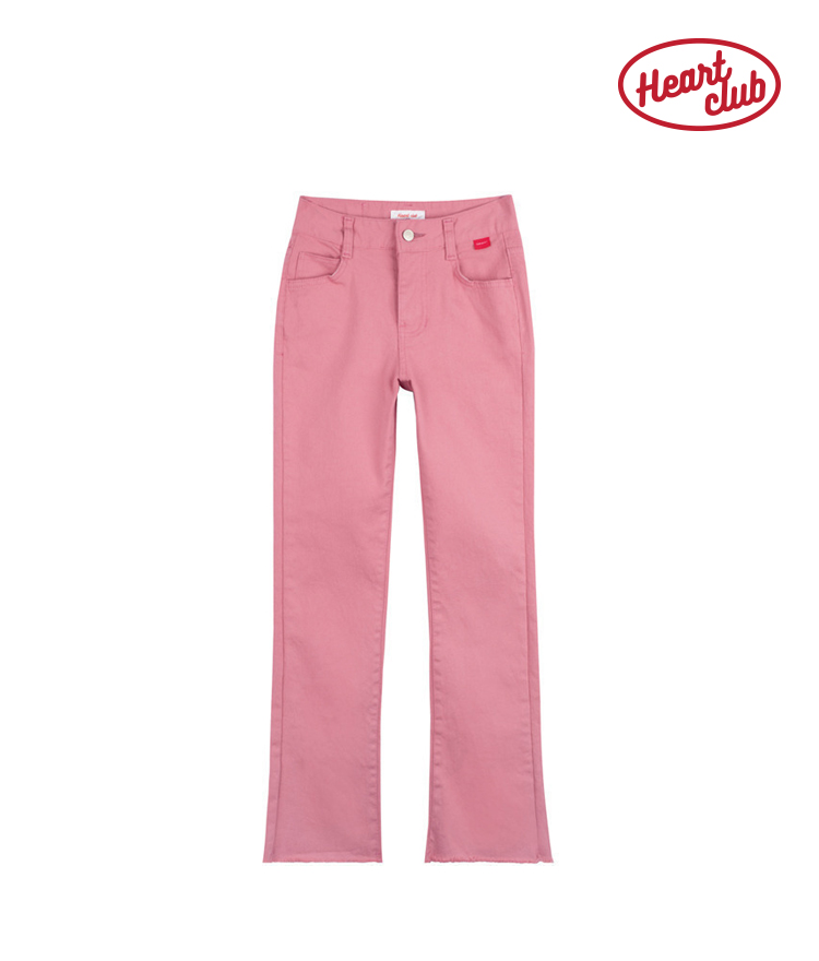 Heart Point Cutting Pants(Indi pink)