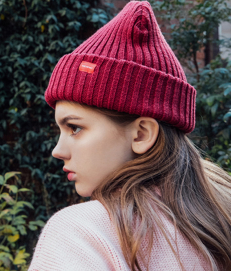 Heart Point Beanie (Wine)