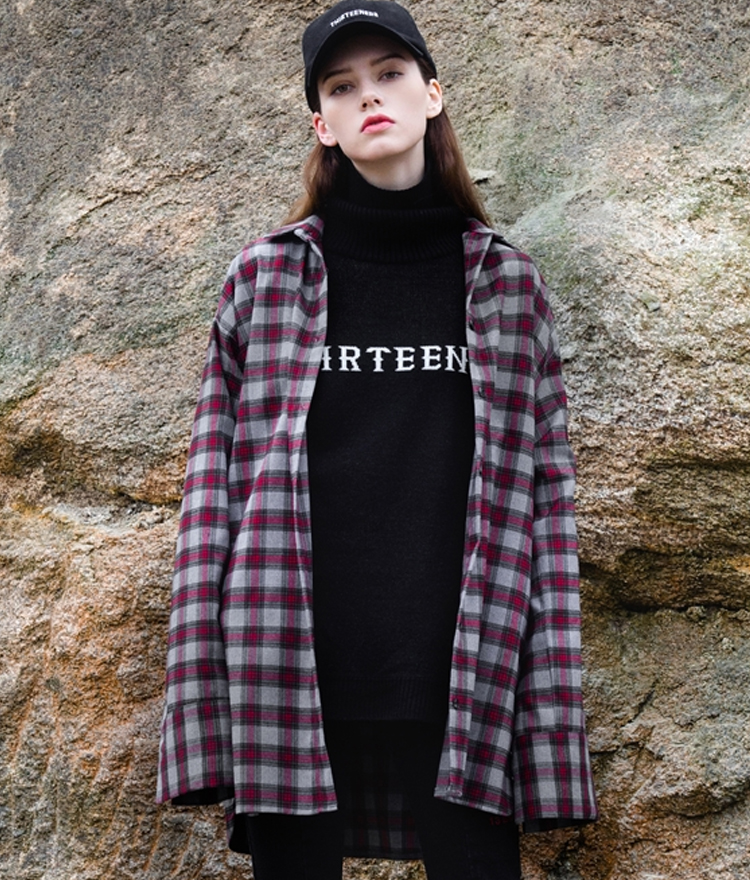 Tartan Check Long Shirt