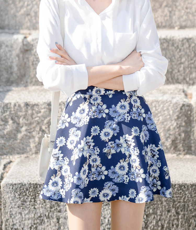 Lena flower skirt