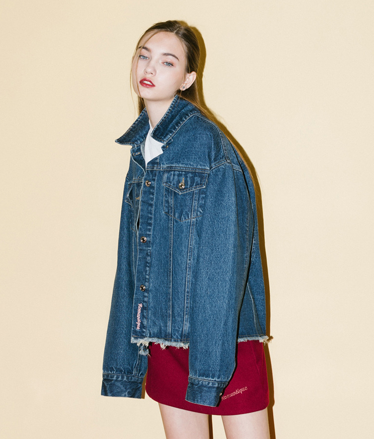 Denim Romantique Jacket(Blue)