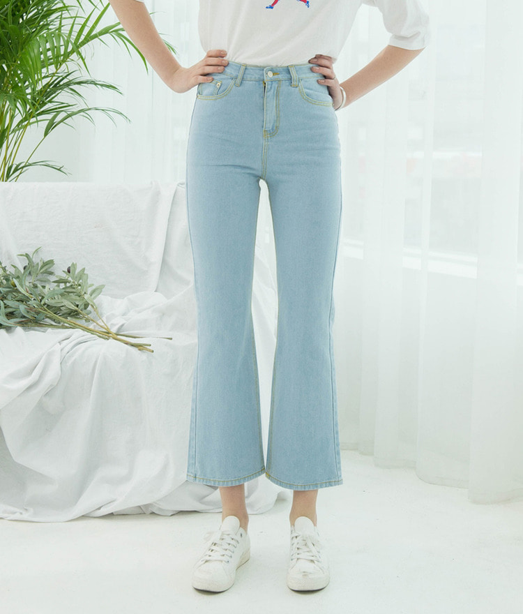Ice Straight Denim Pants