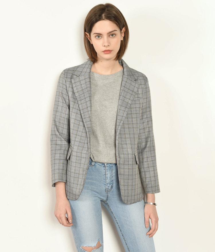 Gentle Checked Jacket