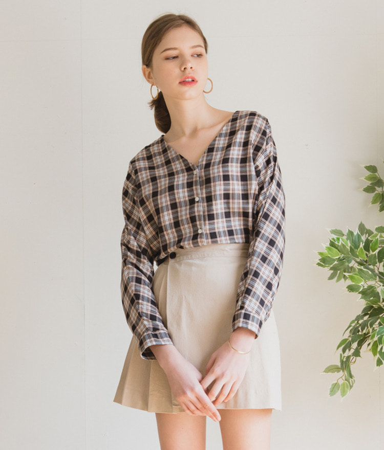 Modern Checked Shirt
