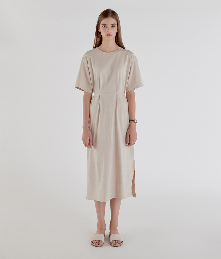 Daily Cotton Strap Dress