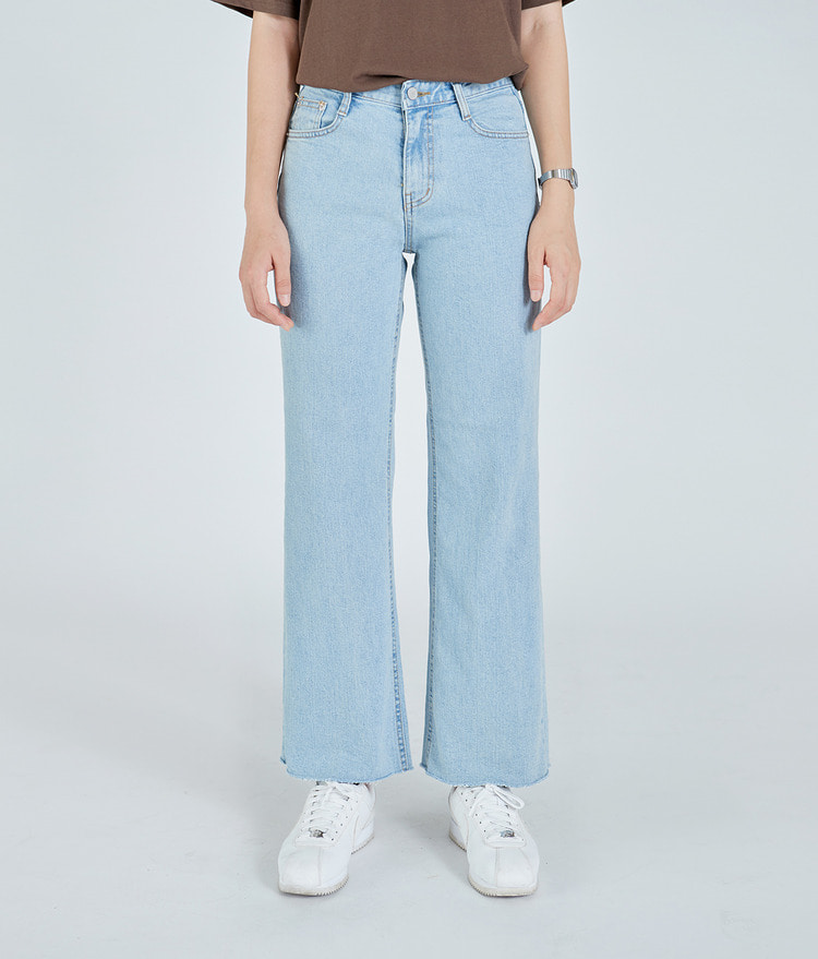 Bootcut Denim Pants