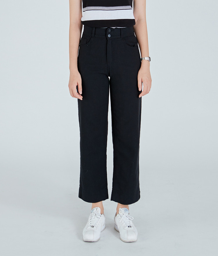 Two-Button Long Pants