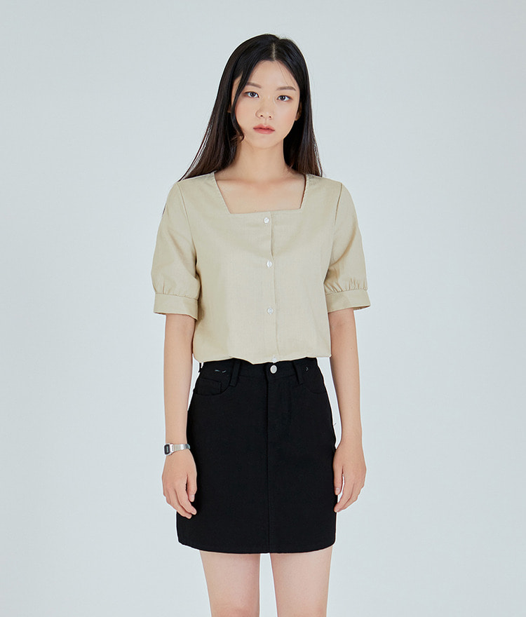 Squre Neck Blouse