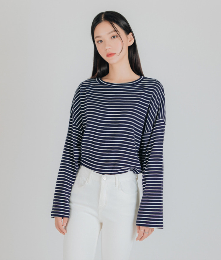 Iris Striped Top