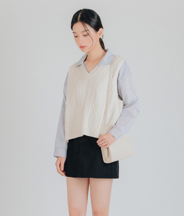 Twisted Slim Knit Top