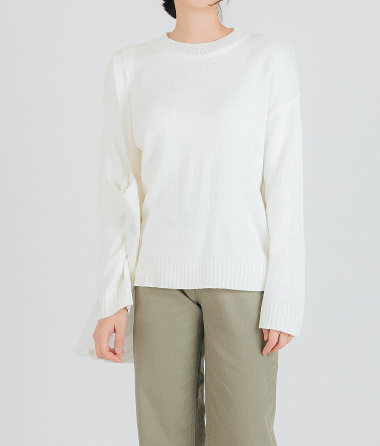 Peanut Round Neck Knit