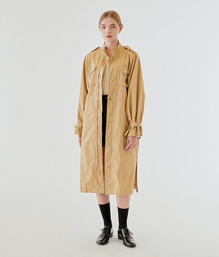 Cuffs Point Trench Jumper