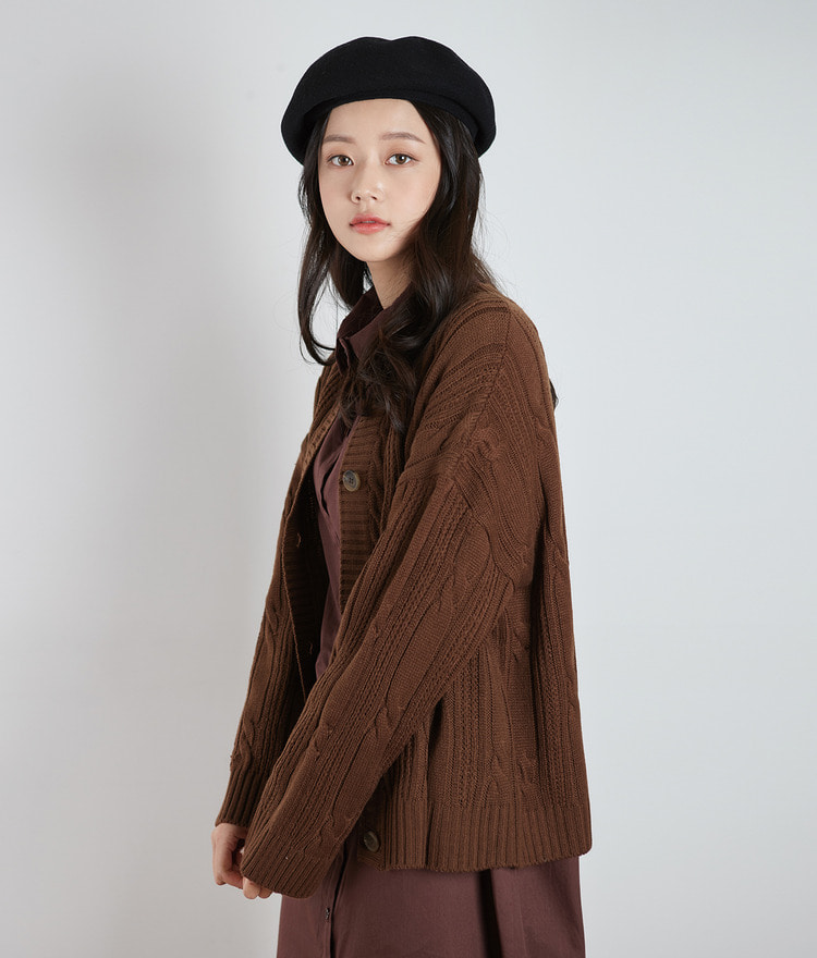 Twist Boxy Cardigan