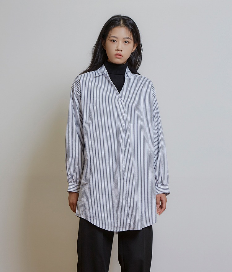 Stripe Long Shirts