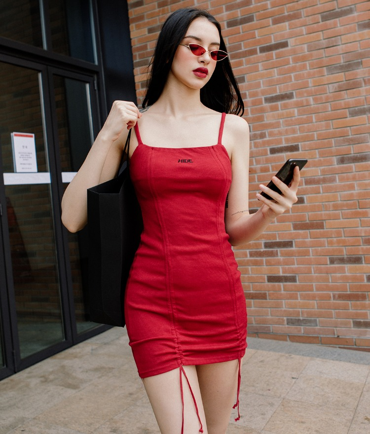 HIDE Logo String Dress