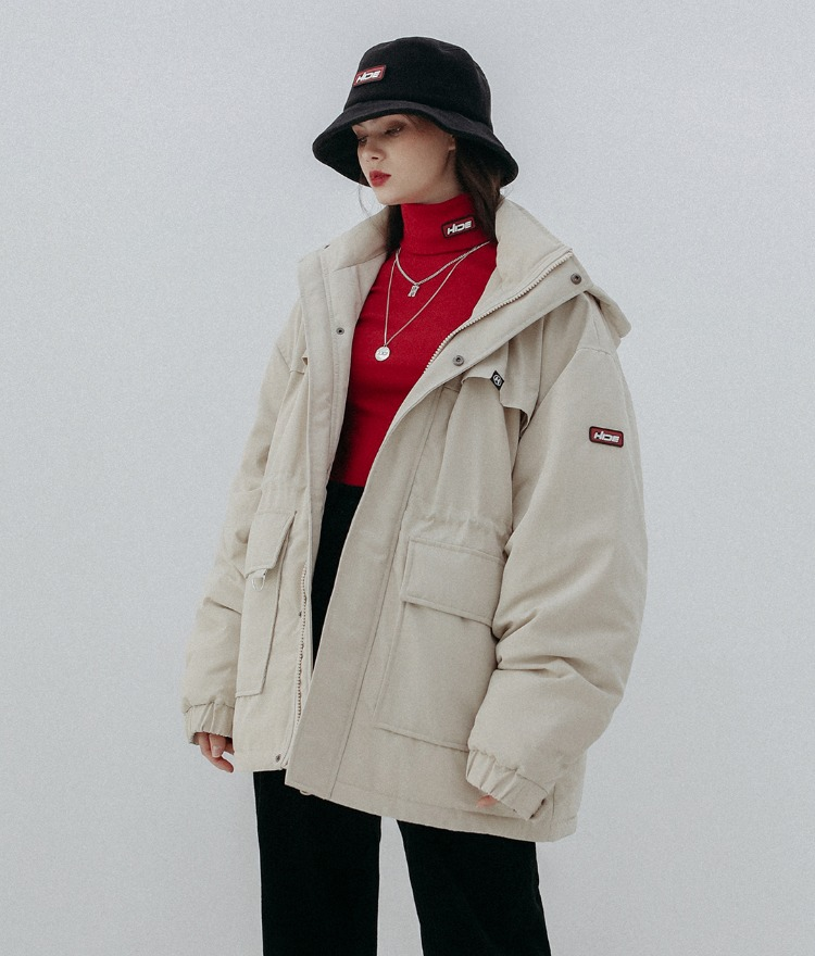 HIDE Future Parka (Beige)