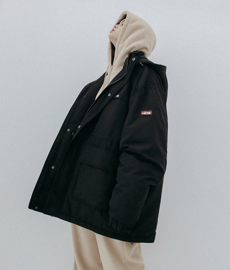 HIDE Future Parka (Black)