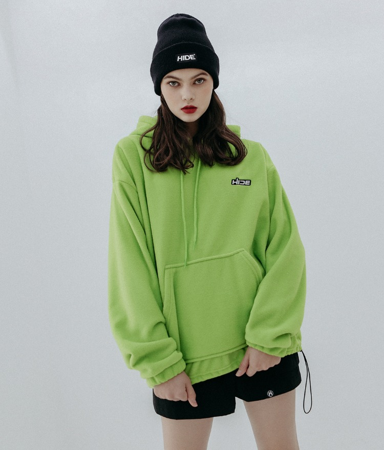 HIDE Future Fleece Hoodie (Light Green)
