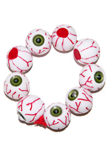 KREEPSVILLE666 Eyeball Bracelet (GREEN)