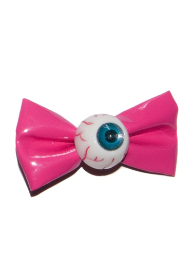 KREEPSVILLE666 Eyeball Hairbow Slide(PINK)